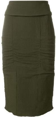 Tom Ford panelled pencil skirt