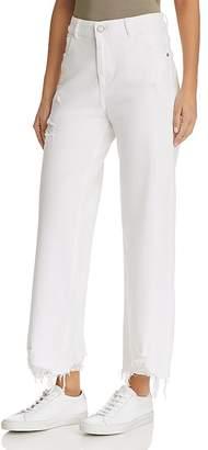 DL1961 Hepburn High Rise Wide-Leg Jeans in Sacramento