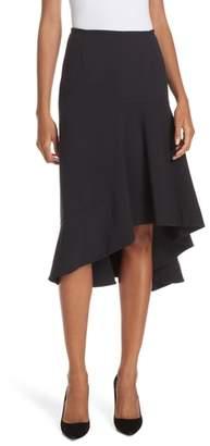 BOSS Melepia Asymmetrical Faux Wrap Skirt