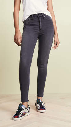 Rag & Bone Capri Jeans with Slits