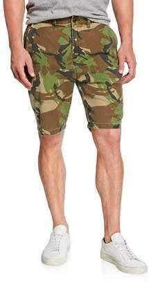Hudson Men's Camo Relaxed Chino Shorts