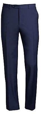 Canali Men's Regular-Fit Wool Pants