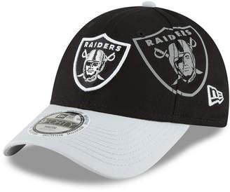 New Era Boys' Oakland Raiders Side Flect 9FORTY Cap