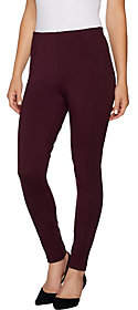 Kelly by Clinton Kelly Regular Ponte Knit Pull-on Ankle Pants