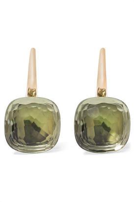 Pomellato Nudo Classic 18-karat Rose Gold Prasiolite Earrings