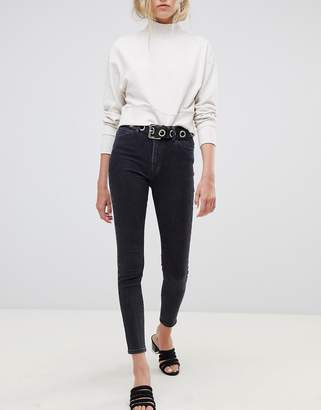 Tomorrow Denim Tomorrow highwaisted cropped skinny jean with organic cotton