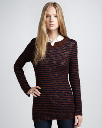 Theory Striped Sweater
