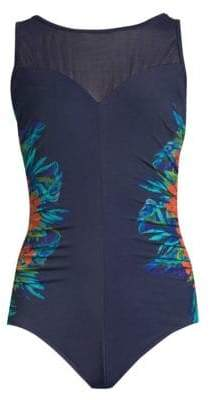 Miraclesuit Swim Samoan Sunset Fascination One-Piece Swimsuit