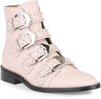 Givenchy Elegant flat blush leather boot
