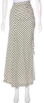 Paper London Striped Asymmetrical Skirt w/ Tags