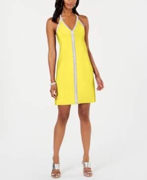 MSK Embellished A-Line Dress