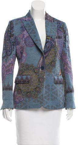 EtroEtro Paisley Wool Blazer
