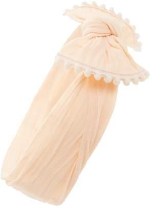 Baby Bling Pompom Trim Headband