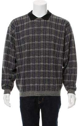 Giorgio Armani Wool-Blend Knit Sweater
