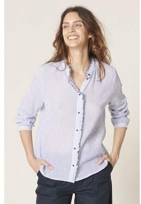 Harris Wilson Cecile Shirt - 3/uk 12 - Blue