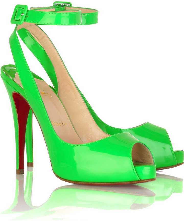 Christian Louboutin Privatita platform slingbacks
