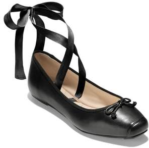 Cole Haan Downtown Ankle Wrap Ballet Flat