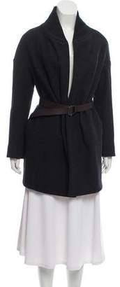 Marni Wool Belt-Accented Coat