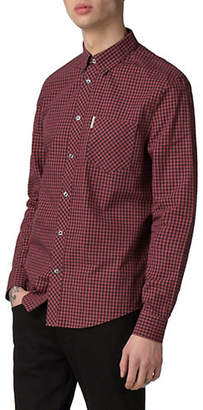 Ben Sherman Core Long-Sleeve Gingham Sport Shirt