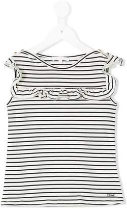 Chloé Kids striped top