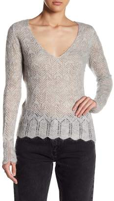 Sincerely Jules Abby Scallop Hem Sweater