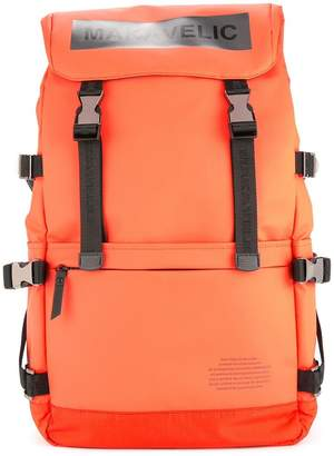 Makavelic Ludus box-logo backpack