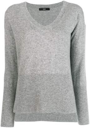 Steffen Schraut v neck knit sweater