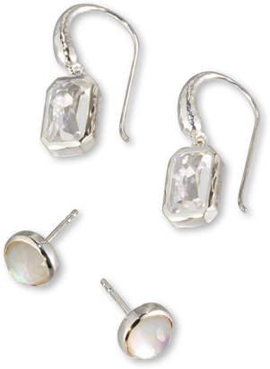 Ippolita Rock Candy Quartz Stud & Dangle Earring Set