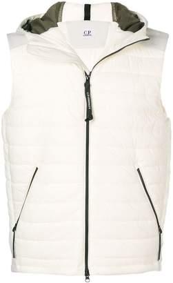 C.P. Company hooded sleeveless vest