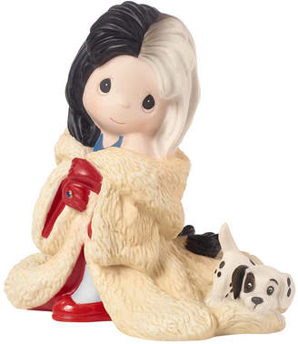 Precious Moments Disney Showcase Collection You're Such A Dahling Cruella De Vil Bisque Porcelain Figurine 183071