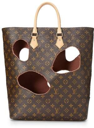 Louis Vuitton Comme Des Garcons x Monogram Cutout Hole Bag