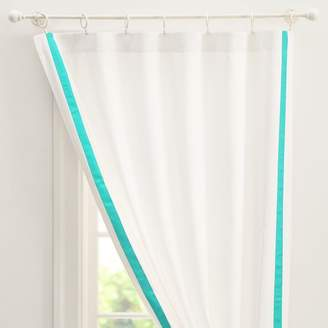 Pottery Barn Teen Suite Ribbon Drape With Blackout, 84&quot, Pool