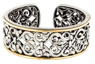 Charles Krypell Two-Tone Cuff Bracelet
