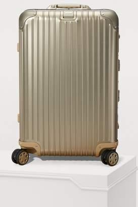 Rimowa Topas Titanium multiwheel electronic tag luggage - 67L