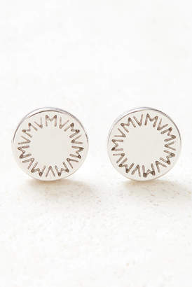 Vanessa Mooney The Dynasty Silver Stud Earrings