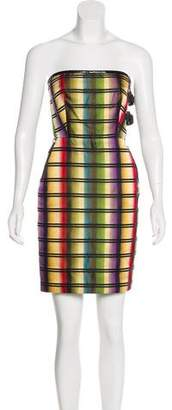 Jean Paul Gaultier Patterned Silk Dress