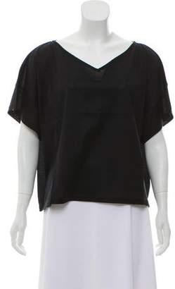 Acne Studios Oversize V-Neck T-Shirt
