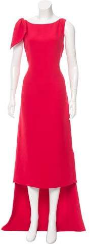 Christian Dior High-Low Silk Gown