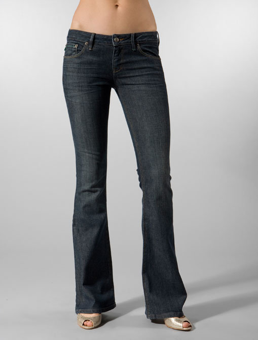 Grass Jeans Topanga Jean with Flap Pocket in Onyx Wash