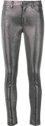 Dondup metallic trousers