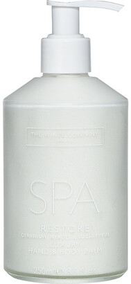 The White Company Spa restore hand & body balm 250g