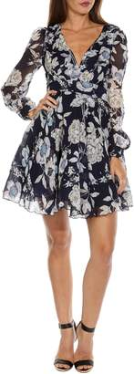 TFNC Nordi Floral Fit & Flare Party Dress