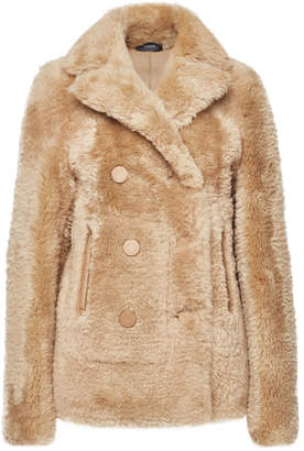 Joseph New Hector Suede and Shearling Jacket