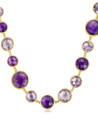 PIARA Amethyst Twisted Necklace