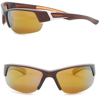 Polaroid EYEWEAR Men's Rectangular Sunglasses