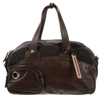 Prada Sport Leather Satchel