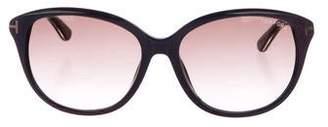 Tom Ford Oversize Gradient Sunglasses