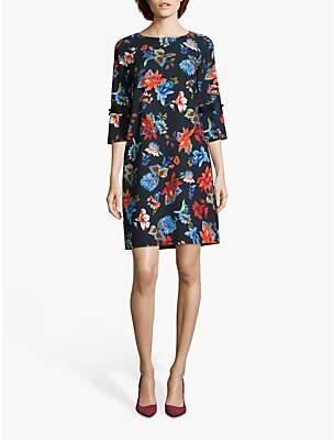 Betty Barclay Floral Shift Dress, Purple/Multi