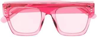 Stella McCartney Eyewear clear framed sunglasses