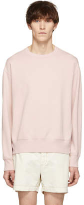 Our Legacy Pink Patch Sweat Sweatshirt